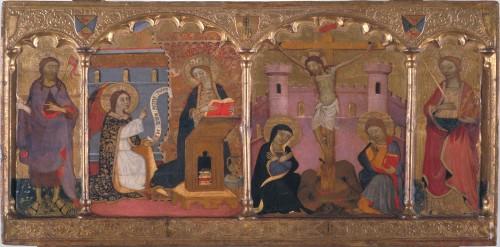 Annunciation-Crucifixion
